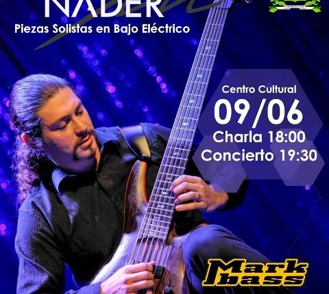 Destacado bajista presentará disco en Vallenar