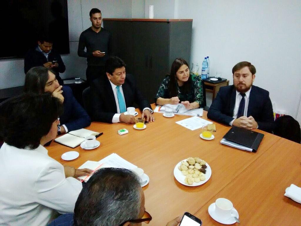 Reunión en Santiago tema Aguas Chañar (5)