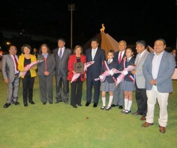 Con brillante acto cívico el Liceo San Francisco rindió homenaje a Vallenar