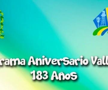 Entregan Programa de Aniversario 183 de Vallenar.