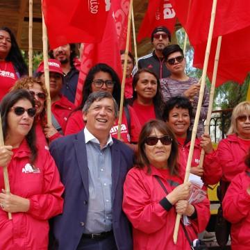 """Carmona respecto a elecciones: """"Podríamos tener dos senadores a favor de la Nueva Mayoría"""""""