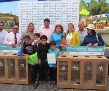 Municipio de Vallenar Firman Convenio para el Reciclaje Electrónico.