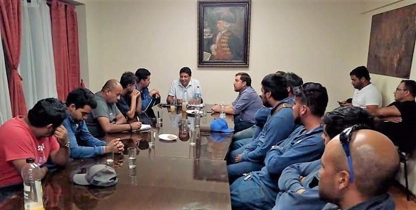 ALCALDES MEDIARON EN HUELGA DE TRABAJADORES DE CAP