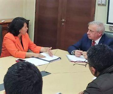 Alcalde Tapia se reúne con Ministro de salud