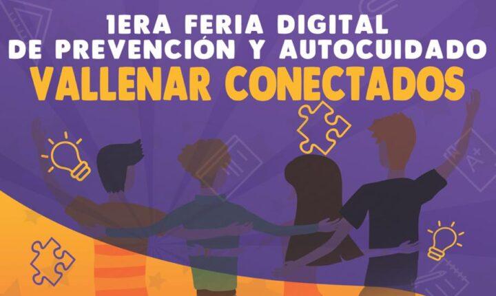 """Invitan a primera feria digital de prevención y autocuidado """"Vallenar Conectados"""""""