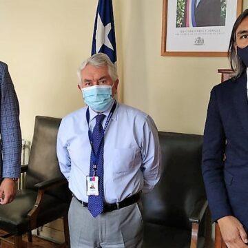 Reunión de alcaldes de Vallenar y Huasco con ministro de Salud