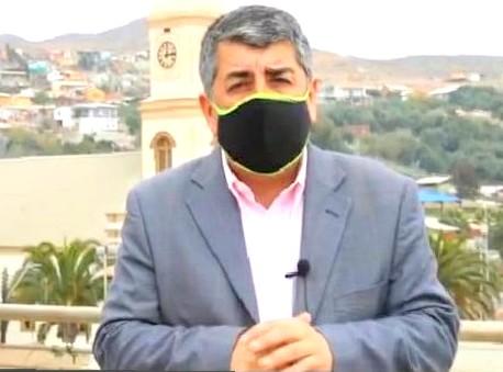 Concejal Patricio Monardes informa sobre su test positivo COVID-19