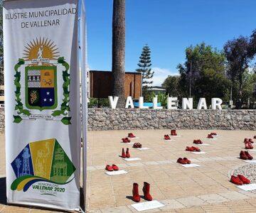 """Intervención """"Zapatos Rojos"""" en Vallenar"""