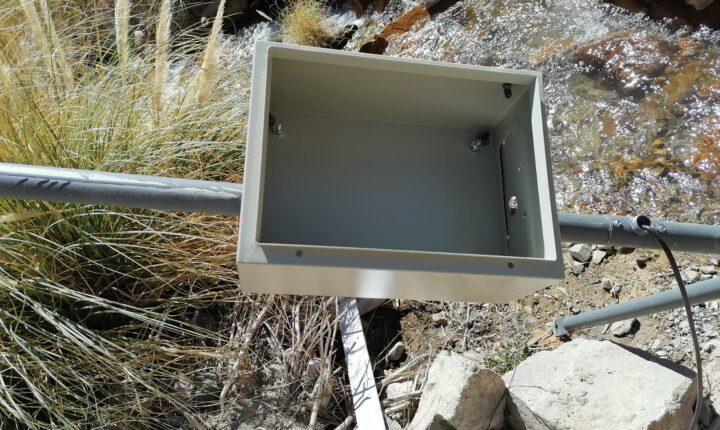 Destruyen estación de monitoreo hídrico al interior del Valle del Tránsito