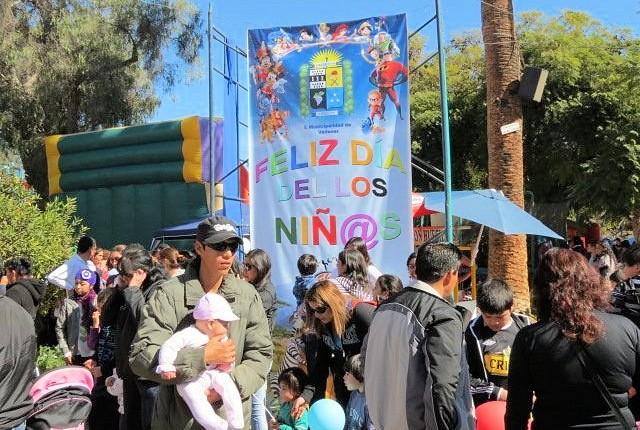 ¡Este Día del Niño principal paseo público de Vallenar se transformará en un Parque de Diversión!