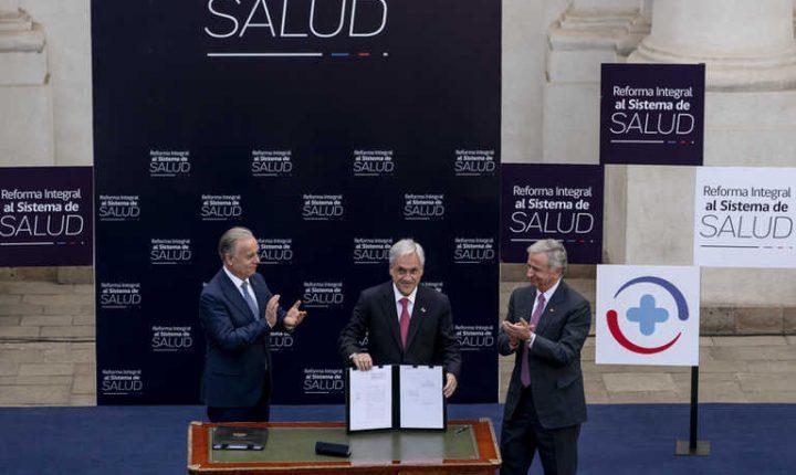 Amplio acuerdo de oposición busca frenar reforma de salud pro Isapres de Piñera