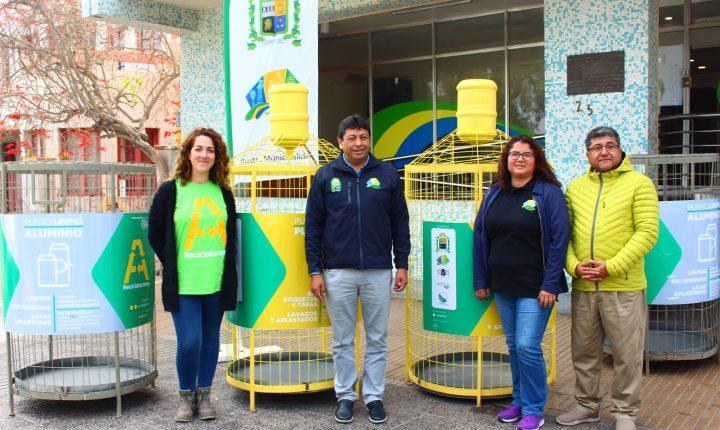 Vuelve el reciclaje de botellas PET a Vallenar