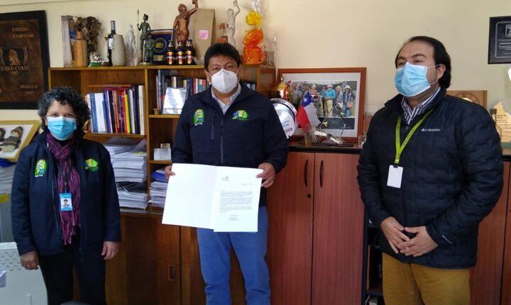 Municipalidad de Vallenar recibió donación test rápidos para Covid 19