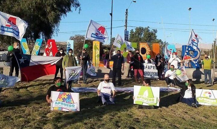 Lanzamiento campaña Apruebo Chile Digno
