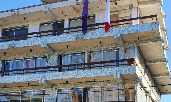 Municipio de Vallenar es pionero en izar bandera al conmemorar día mundial por la eliminación de la violencia contra la mujer