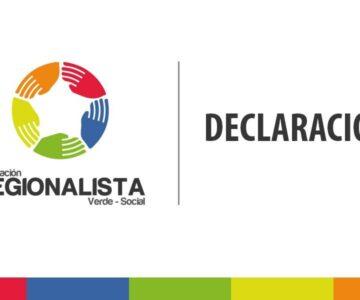 DECLARACIÓN PÚBLICA FEDERACIÓN REGIONALISTA VERDE SOCIAL REGIÓN DE ATACAMA
